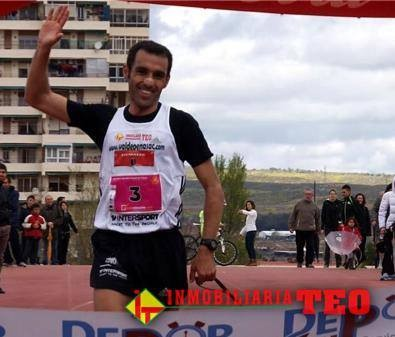 Pedro Vega vence en la carrera popular de Portillo